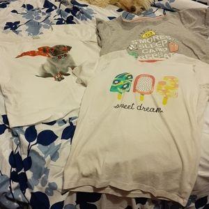 4/$20 Girls T-shirts